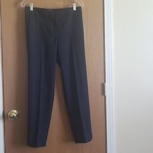 Talbots Hampshire Navy Ankle Pants Size 2